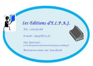 nouveau logo d'ELPAJ EDITIONS